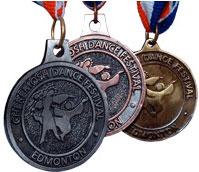 Cheremosh Dance Festival Medals